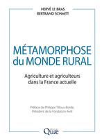 Vente EBooks : Métamorphose du monde rural  - Hervé LE BRAS - Bertrand Schmitt