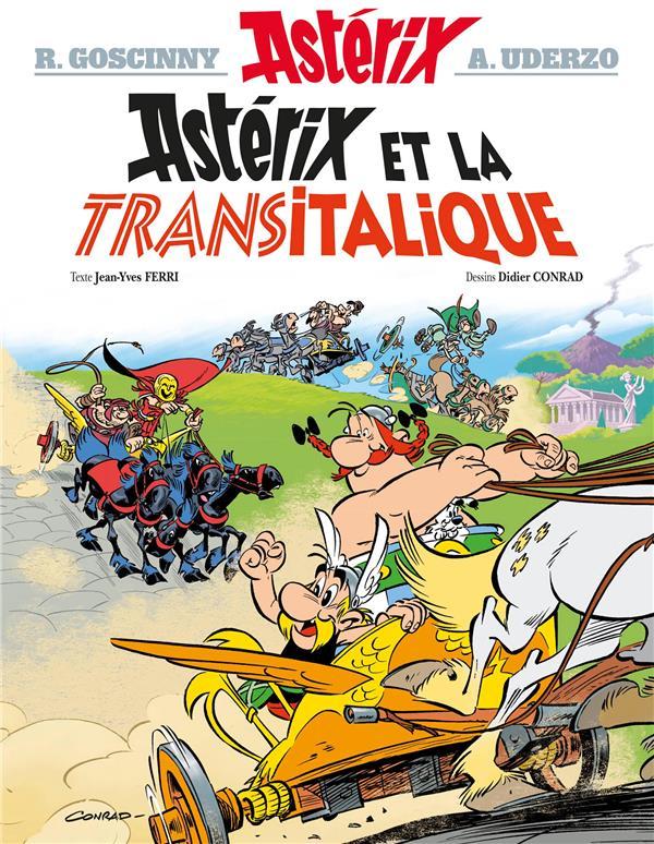 Asterix T.37 ; Asterix Et La Transitalique