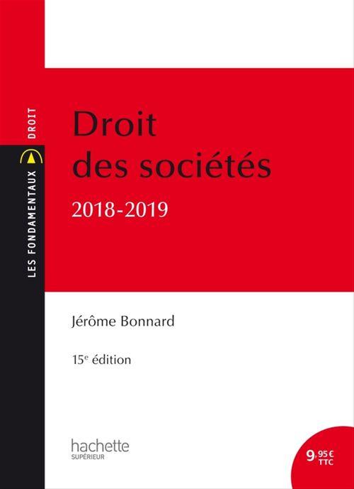 Les Fondamentaux Droit des sociétés 2018-2019