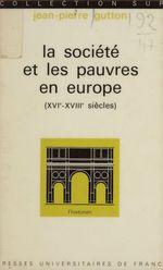 Vente EBooks : La société et les pauvres en Europe (XVIe-XVIIIe siècles)  - Jean-Pierre GUTTON