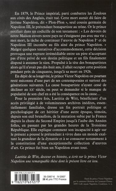 Le prince victor napoléon (1862-1926)