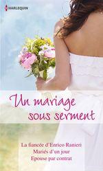 Vente Livre Numérique : Un mariage sous serment  - Michelle Reid - Melanie Milburne