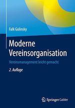 Moderne Vereinsorganisation  - Falk Golinsky