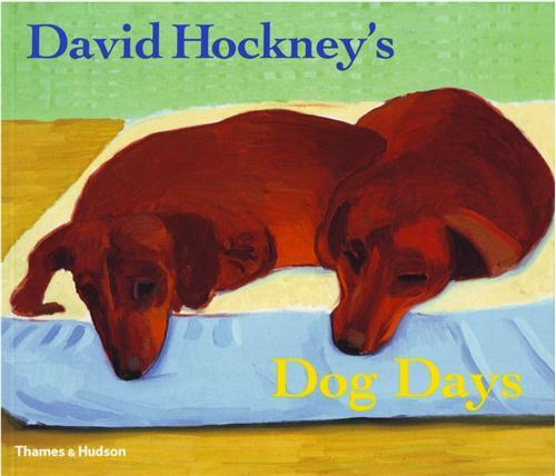 David hockney's dog days (paperback) /anglais
