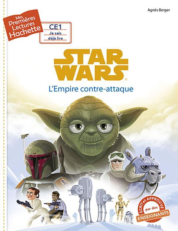 Mes premières lectures ; Star Wars - épisode V ; l'Empire contre-attaque