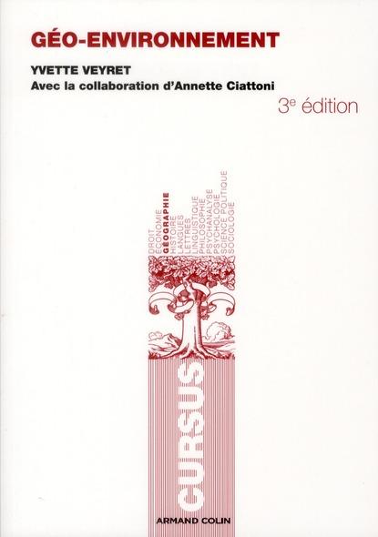 géo-environnement (3e édition)