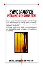 Vente Livre Numérique : Personne n'en saura rien  - Sylvie Granotier