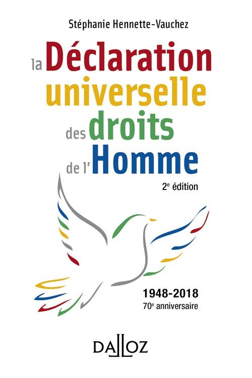 La déclaration universelle des droits de l'homme