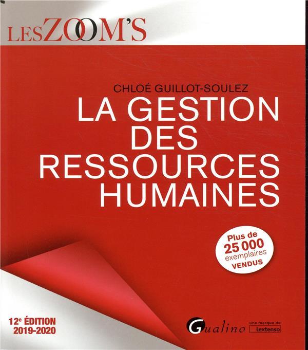 La gestion des ressources humaines (édition 2019/2020)