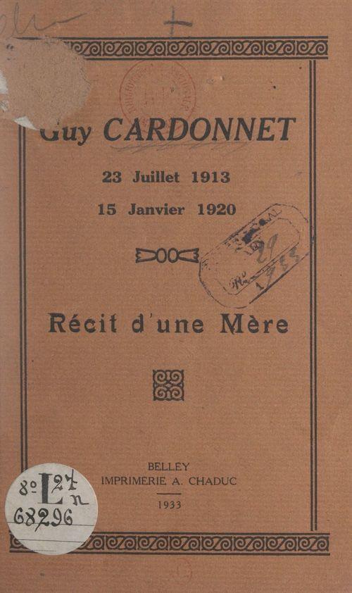 Guy Cardonnet  - Marie Cardonnet-Pagès