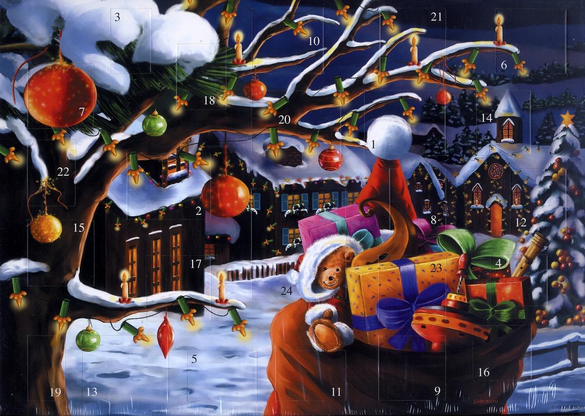 Calendrier de l'avent ; soir de Noël