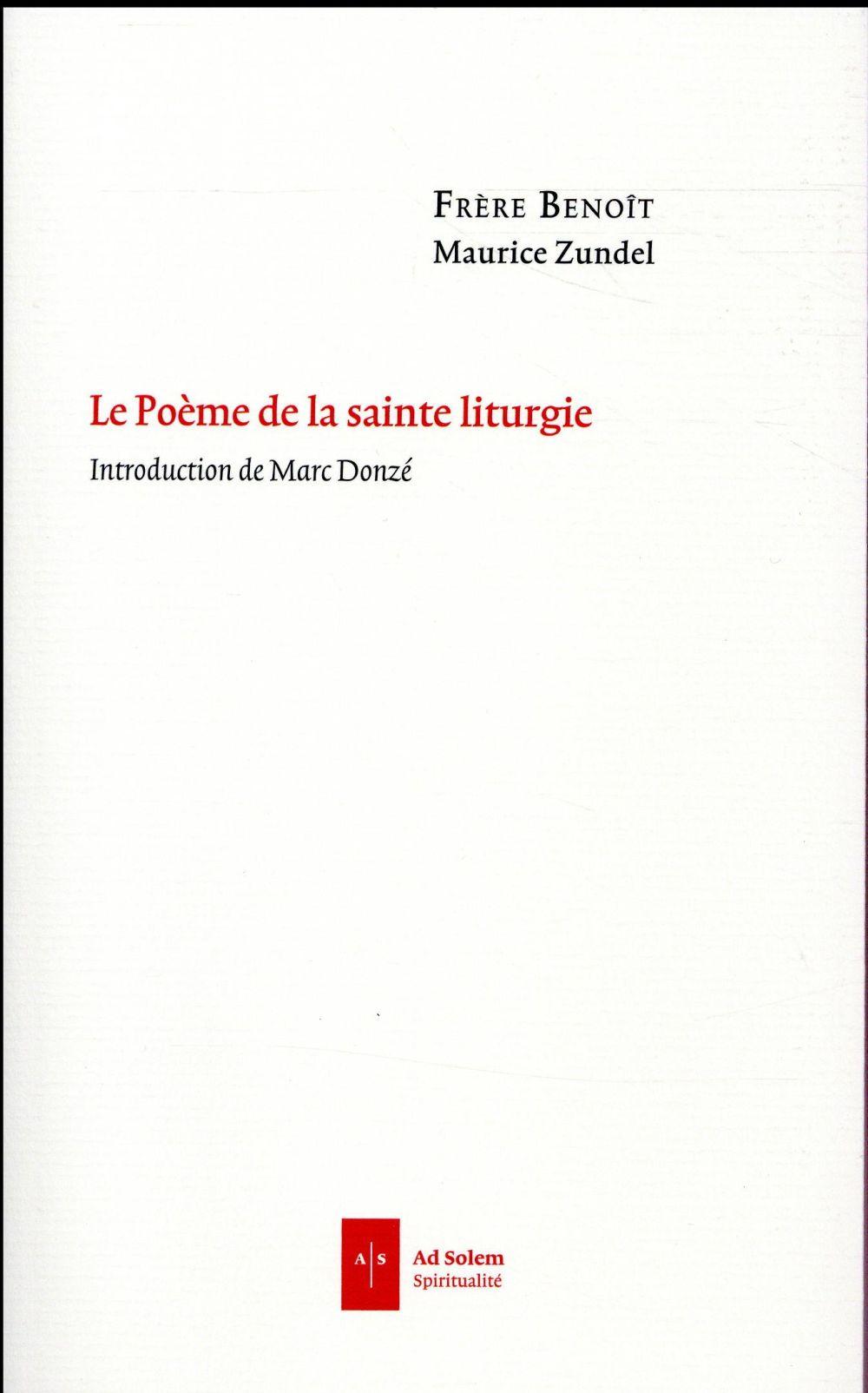 Le poème de la sainte liturgie ; première version