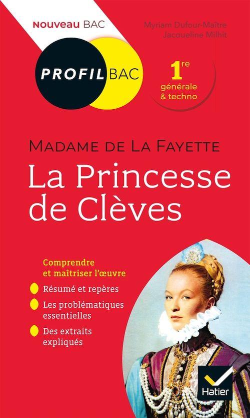 Profil - Mme de Lafayette, La Princesse de Clèves