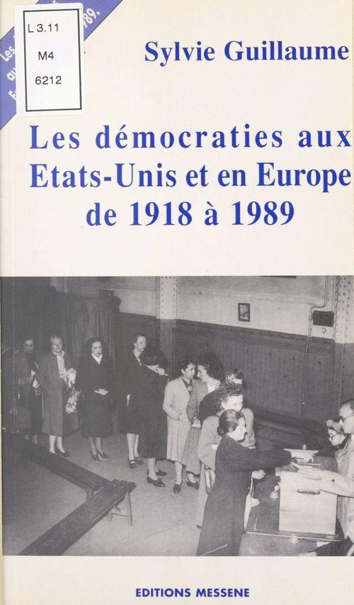 Les democraties du xxeme siecle