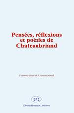 Vente Livre Numérique : Pensées, réflexions et poésies de Chateaubriand  - François-René de Chateaubriand