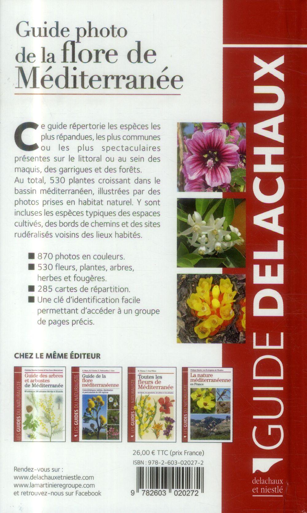 Guide photo de la flore de méditerranée