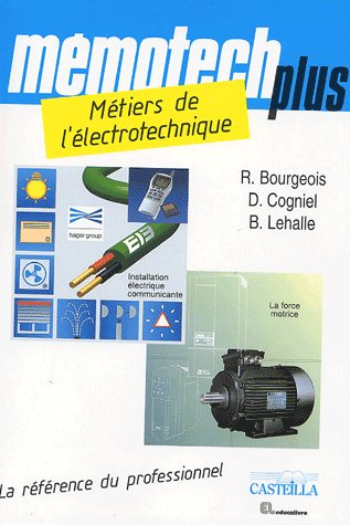 Memotech Plus Metier De L'Electrotechnique