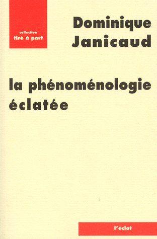La phénoménologie éclatée
