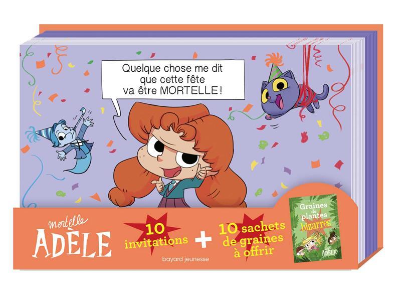 Mortelle Adèle ; invitations