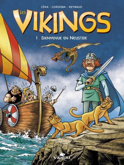 Les vikings T.1 ; bienvenue en Neustrie