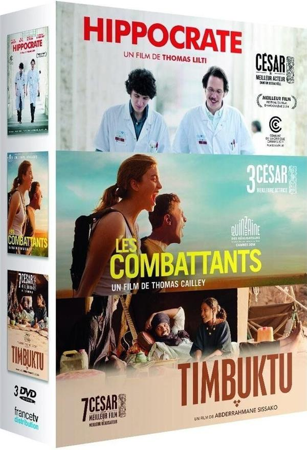 Hippocrate + Les combattants + Timbuktu