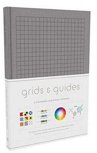 GRIDS & GUIDES (GRAY)  A NOTEBOOK FOR VISUAL THINKERS ANGLAIS