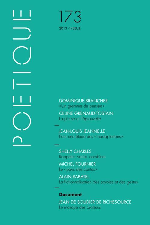 Revue poetique n.173