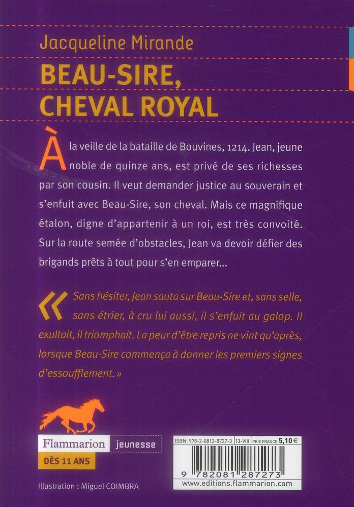 Beau-sire, cheval royal