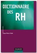 Vente Livre Numérique : Dictionnaire des RH  - Jean-Pierre Taïeb