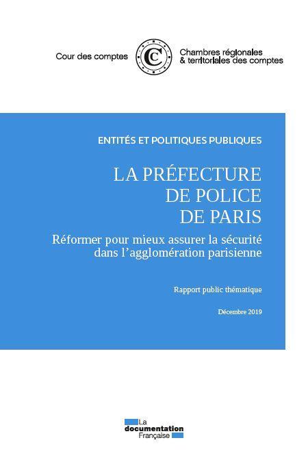 La prefecture de police de Paris ; décembre 2019