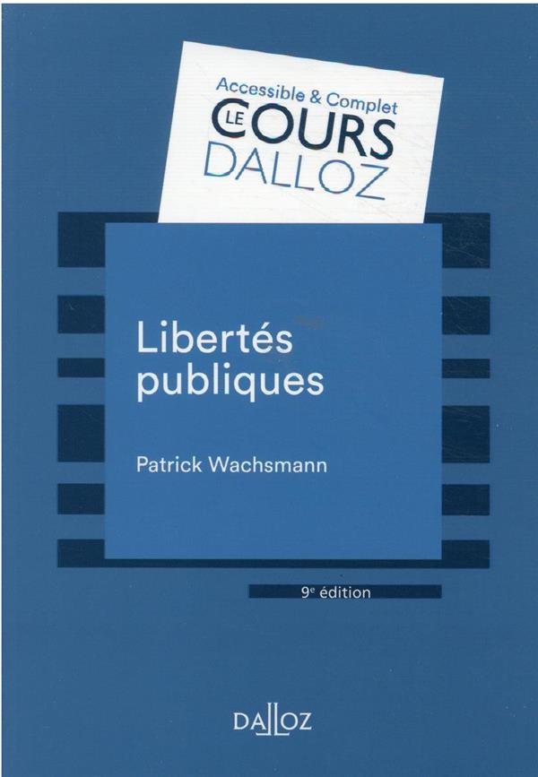 Libertés publiques