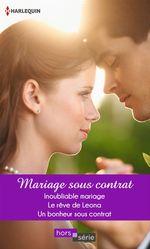 Vente EBooks : Mariage sous contrat  - Liz Fielding - Margaret Way - Jessica Steele