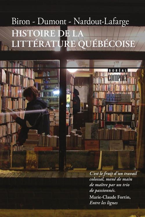 Histoire de la littérature québecoise