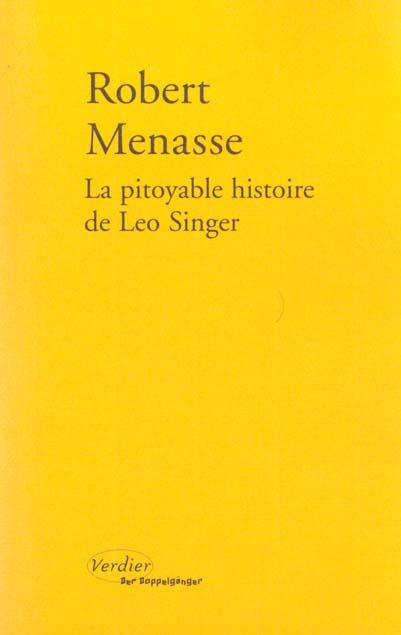 La pitoyable histoire de Leo Singer ; une trilogie viennoise