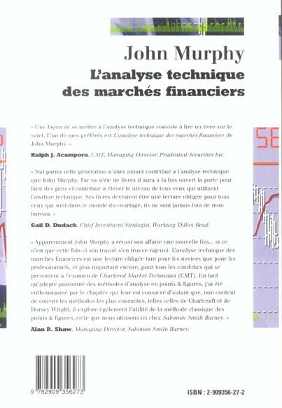 analyse technique des marches financiers