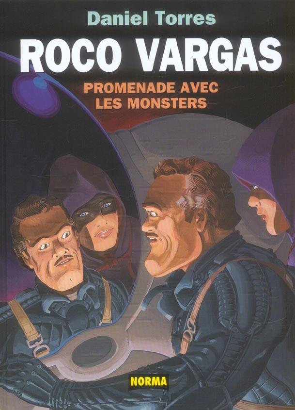 roco vargas ; promenade avec les monstres