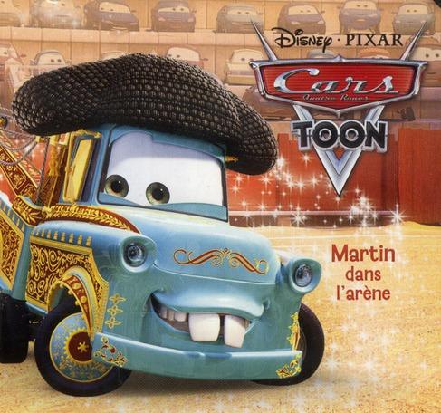 Cars Toon ; Martin Dans L'Arene