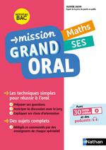 Vente Livre Numérique : Mission Grand Oral - Maths / SES - Terminale - Nouveau Bac  - Nicolas Coppens - Pierre-Antoine Desrousseaux - Olivier Jaoui - Etienne Scharr
