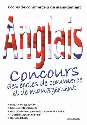 anglais ; concours des écoles de commerce et de management