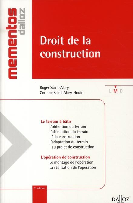 Droit de la construction (9e édition)