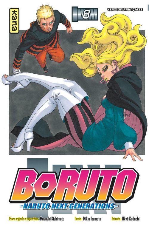 Boruto - Naruto next generations T.8