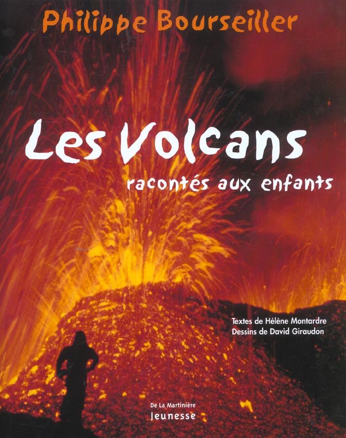 Les volcans racontés aux enfants
