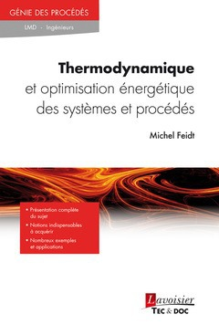 Thermodynamique et optimisation énergétique des systèmes et procédés (3e édition)