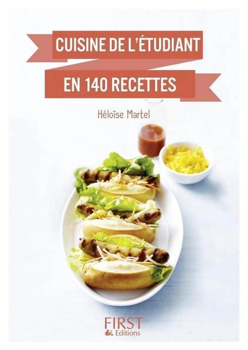 Petit livre de - Cuisine de l'étudiant en 140 recettes