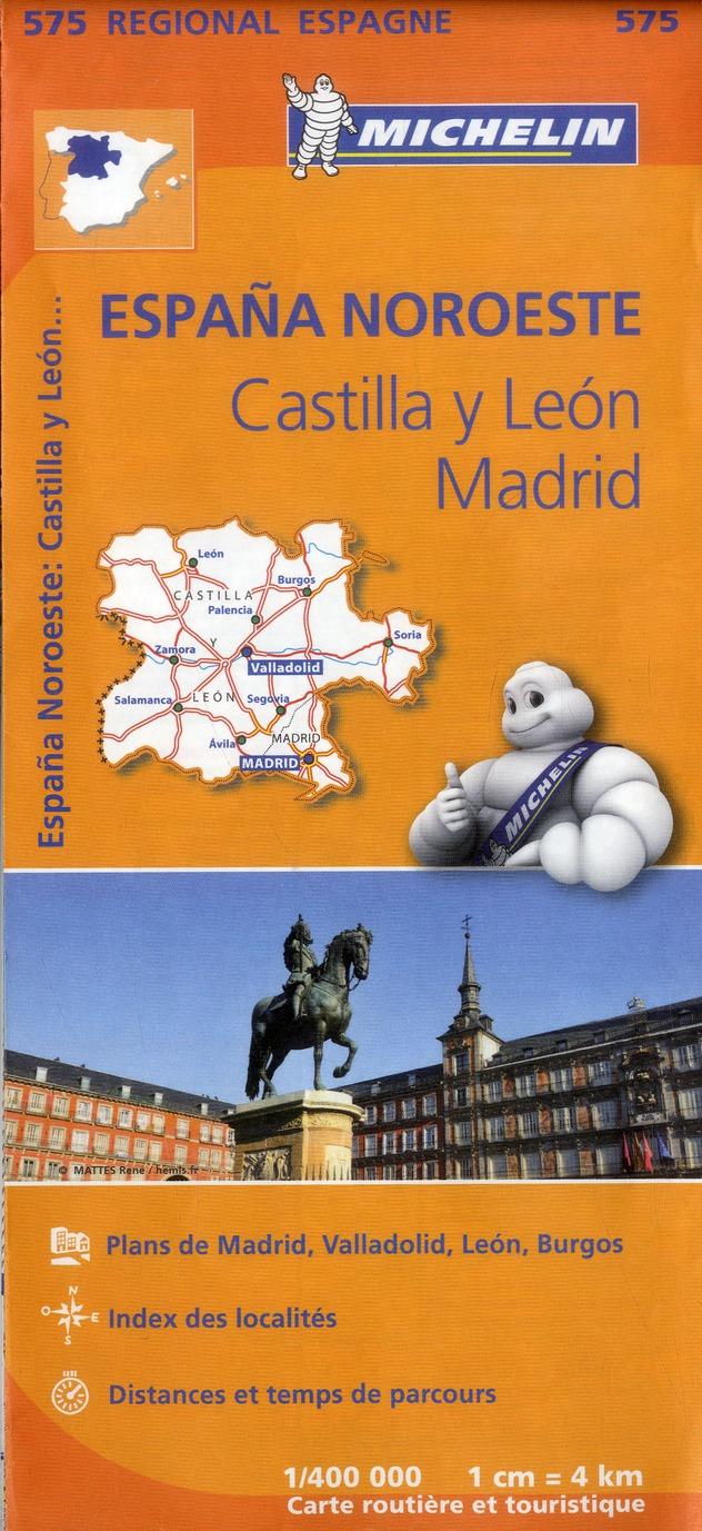 ESPANA NOROESTE : CASTILLA Y LEON, MADRID