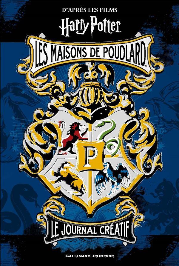 Harry Potter - journal créatif 1 : les maisons de Poudlard