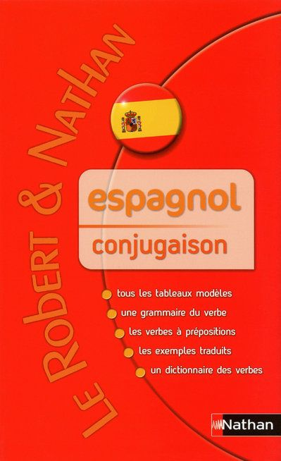 Espagnol Conjugaison Antonio Argueso Nathan Grand Format Le Hall Du Livre Nancy