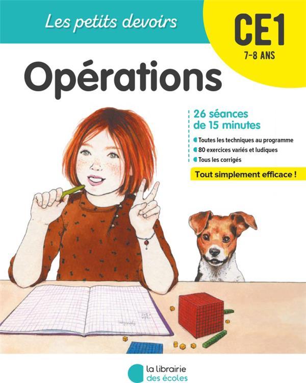 LES PETITS DEVOIRS  -  OPERATIONS  -  CE1