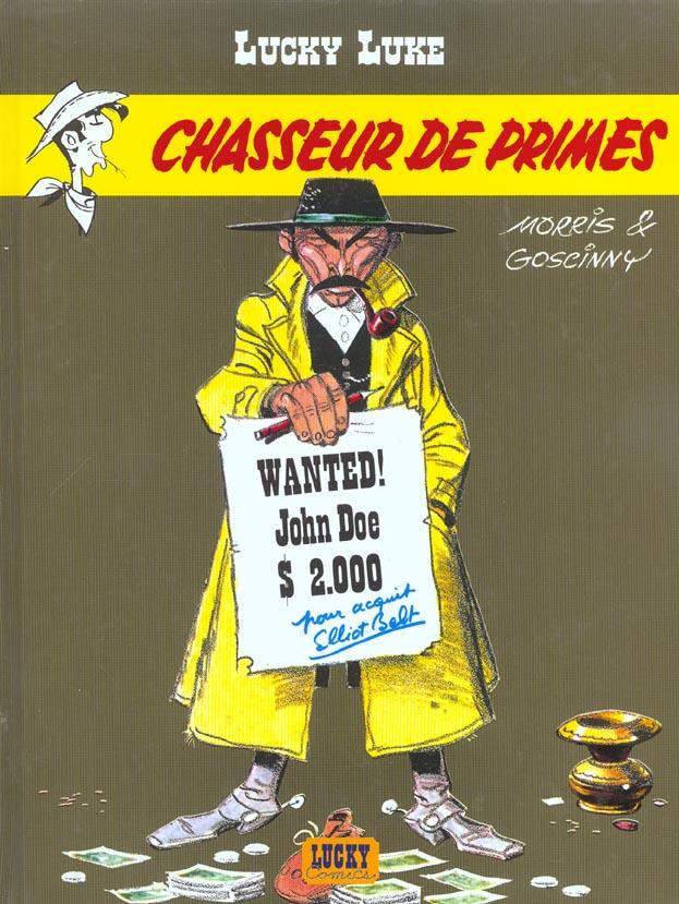 Lucky Luke T.39 ; Chasseur De Primes