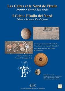 Revue archeologique de l'est n.36 ; les celtes et le nord de l'italie : premier et second age du fer